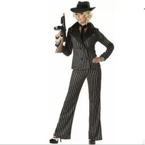 🆕 LADY GANGSTER Women's Costume Pants Suit Jacket